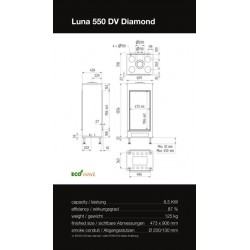 LUNA 550 DV DIAMOND GAS
