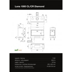 LUNA 1000 CL/CR DIAMOND GAS