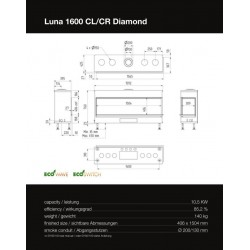 LUNA 1600 CL/CR DIAMOND GAS