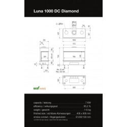 LUNA 1000 DC DIAMOND GAS
