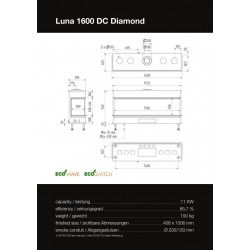LUNA 1600 DC DIAMOND GAS