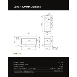 LUNA 1300 RD DIAMOND GAS