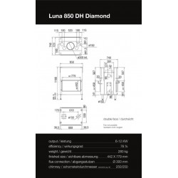 LUNA 850 DH DIAMOND