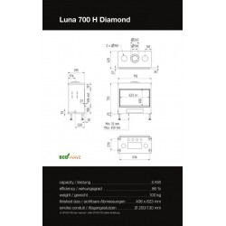 LUNA 700 H DIAMOND GAS