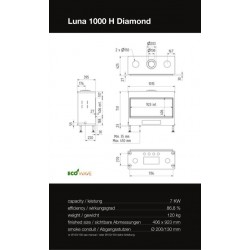 LUNA 1000 H DIAMOND GAS