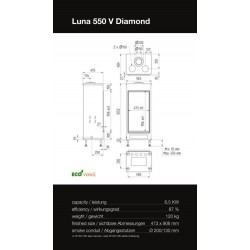 LUNA 550 V DIAMOND GAS