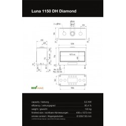 LUNA 1150 DH DIAMOND GAS