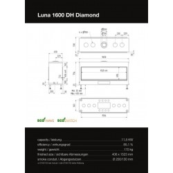 LUNA 1600 DH DIAMOND GAS